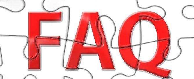 Effective FAQ page